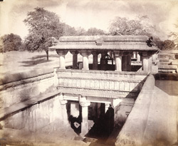 General view of Mata Bhavani's Step-well at Asarwa, near Ahmadabad